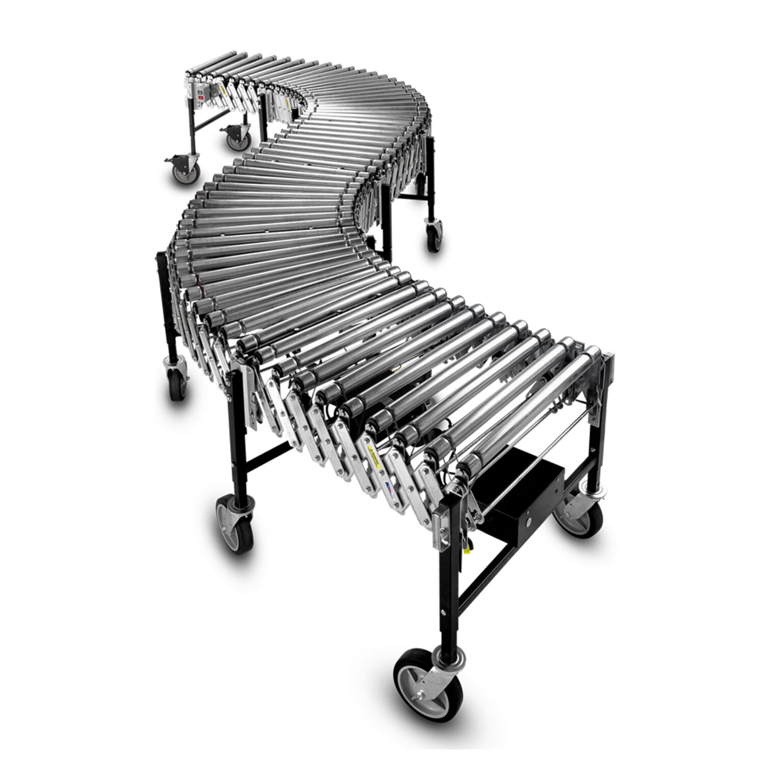 bestflex 1.9 powered roller flexible conveyor