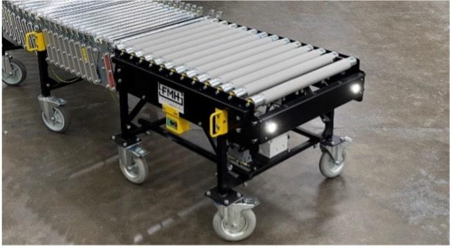 PowerFlex SmartFlow Impact Loading Table FMH Conveyors